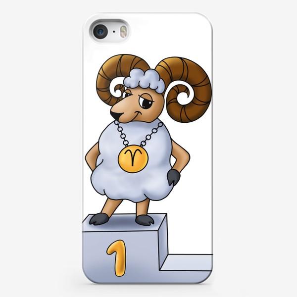 Чехол iPhone «На первом месте»