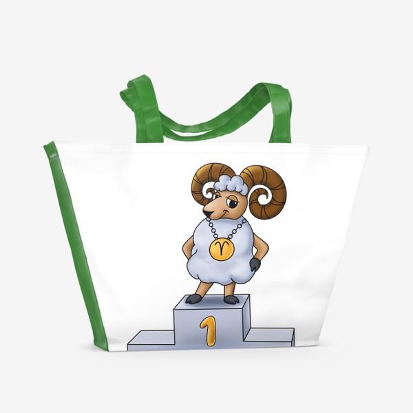 Пляжная сумка «На первом месте»