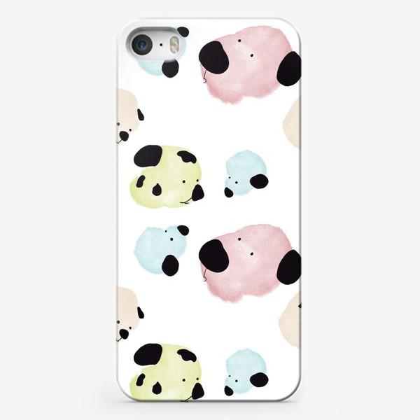 Чехол iPhone «Радужные Собаки »
