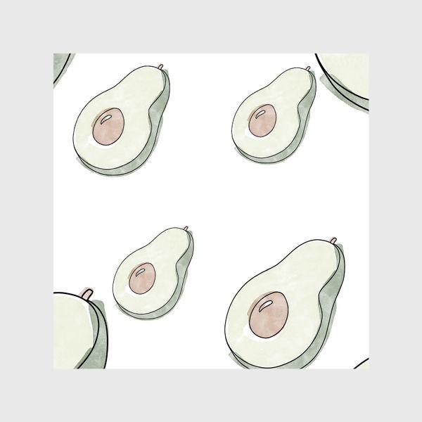 Шторы «Авокадо паттерн »