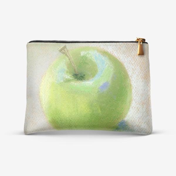 Косметичка «Яблоко зеленое Гренни смит»