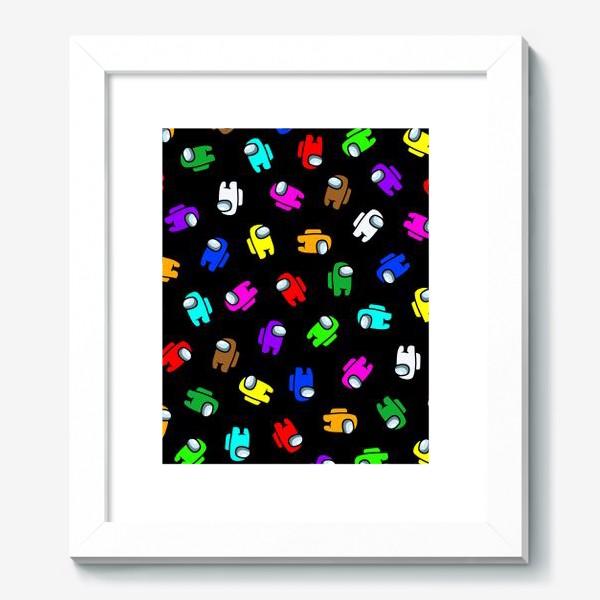 Картина «Among us разноцветный»