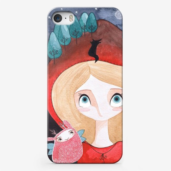 Чехол iPhone «красная шапочка»