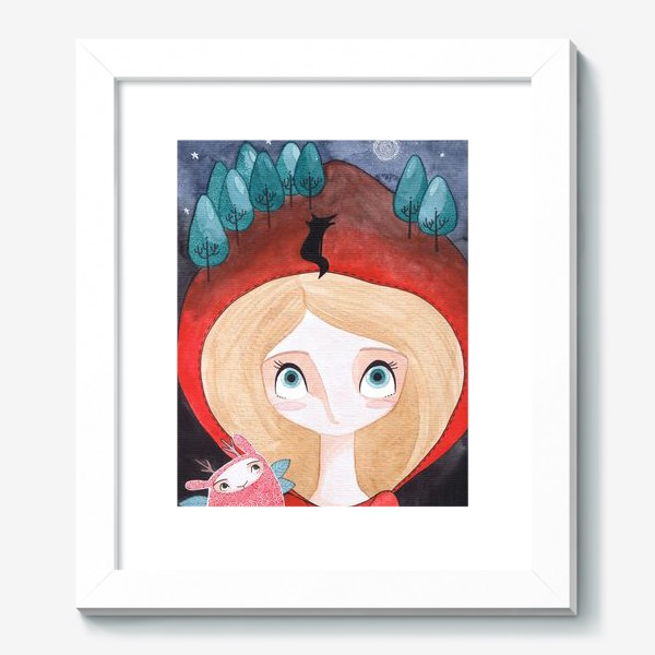 Картина «красная шапочка»
