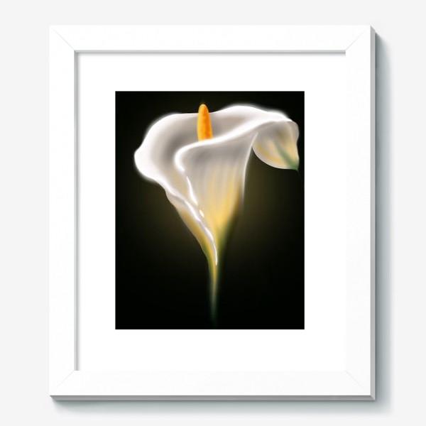 Картина «Неоновая калла»