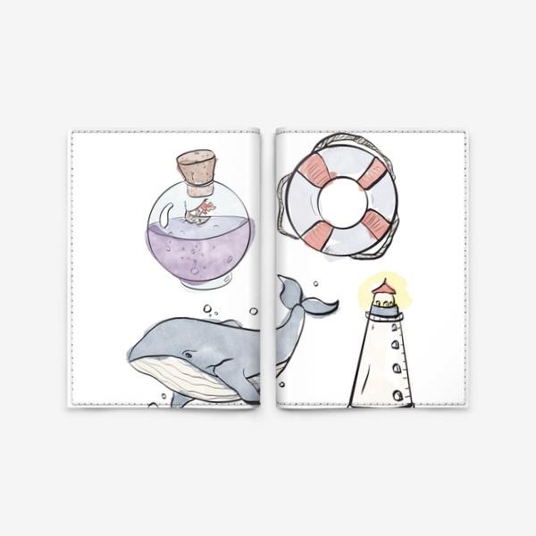 Обложка для паспорта «Морское путешествие »