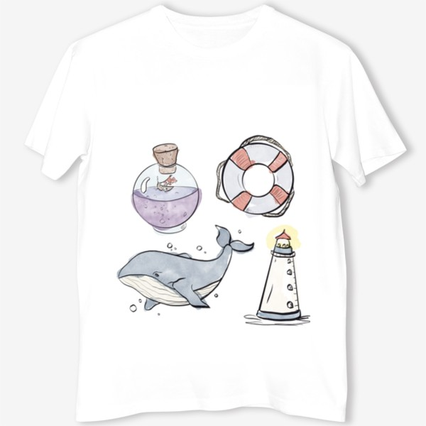 Футболка «Морское путешествие »
