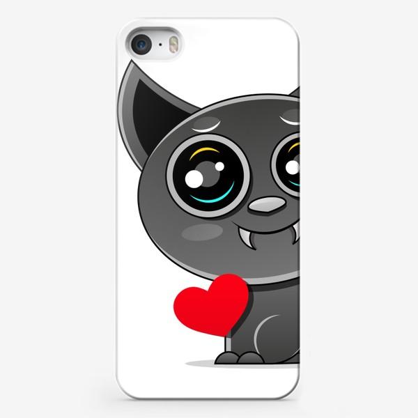 Чехол iPhone «Relax. Black cat »