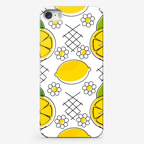 Чехол iPhone «лемон»
