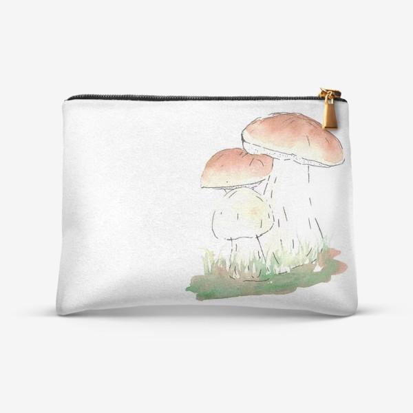 Косметичка «Porcini mushrooms»