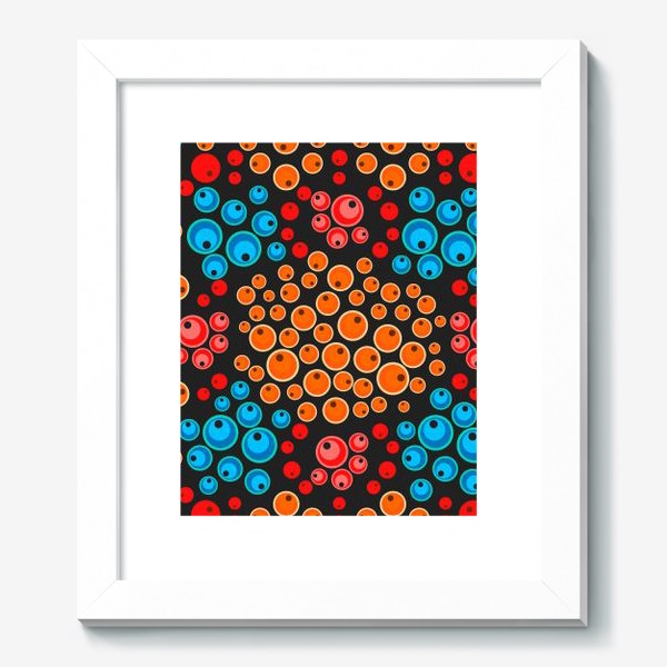 Картина «colorful berries seamless pattern»