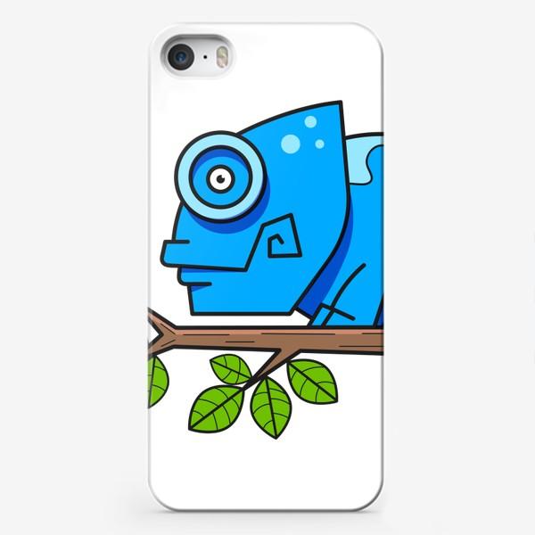 Чехол iPhone «хамелион»