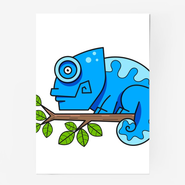 Постер «хамелион»