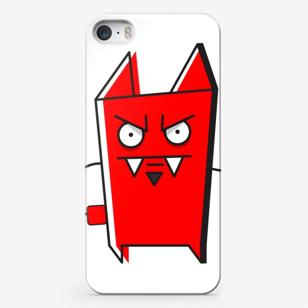 Чехол iPhone «злой»