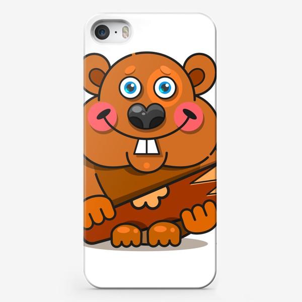 Чехол iPhone «Бобер»