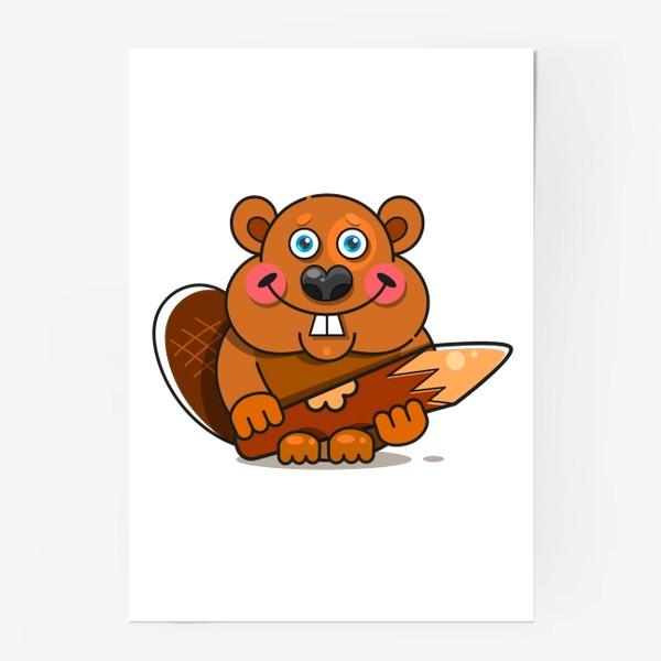 Постер «Бобер»