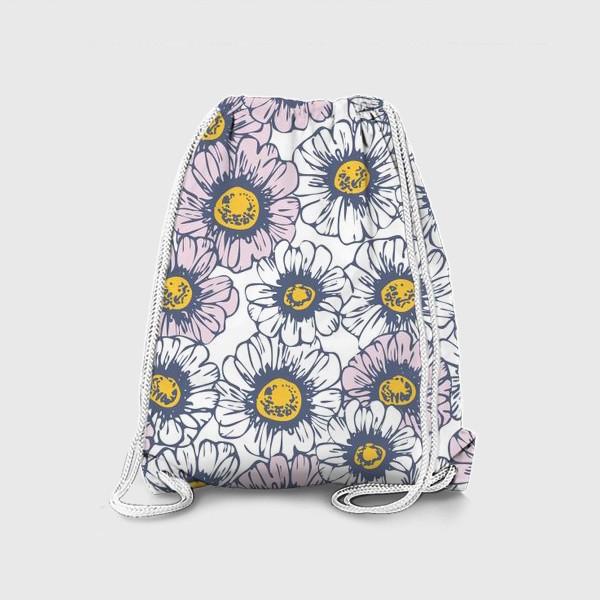 Рюкзак «Ромашки и маргаритки»