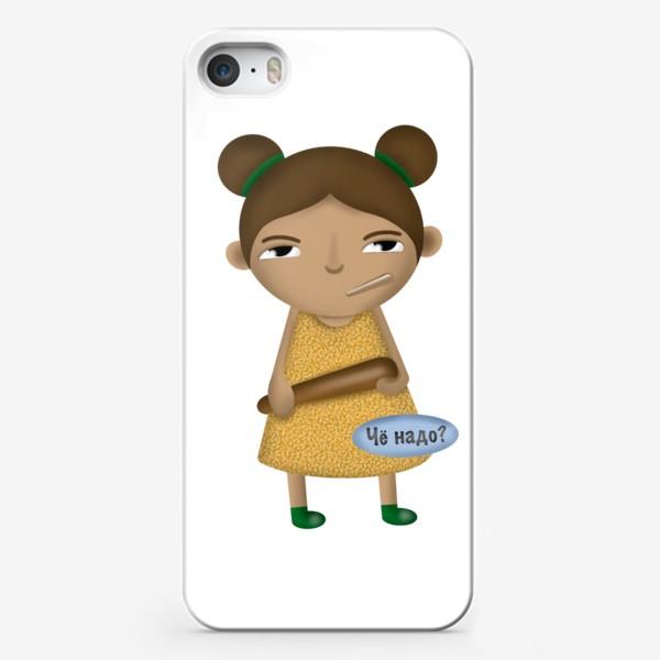 Чехол iPhone «Вредняши «Чё надо?»»