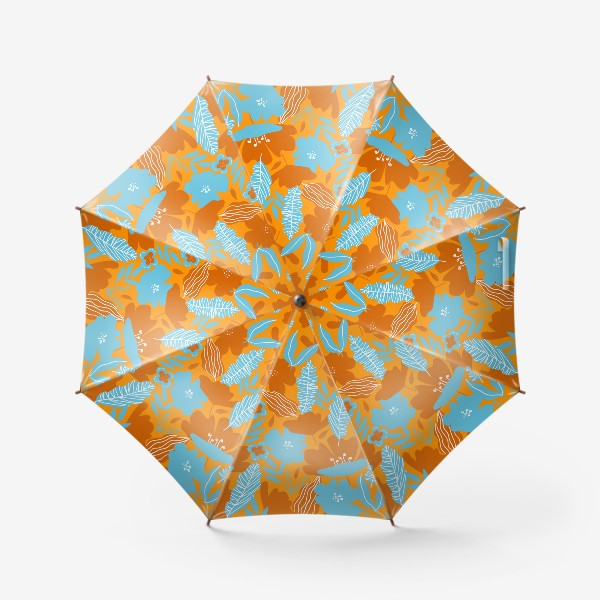 Зонт «яркие цветы»