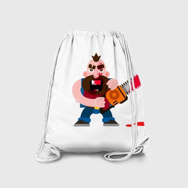 Рюкзак «Бензопила»