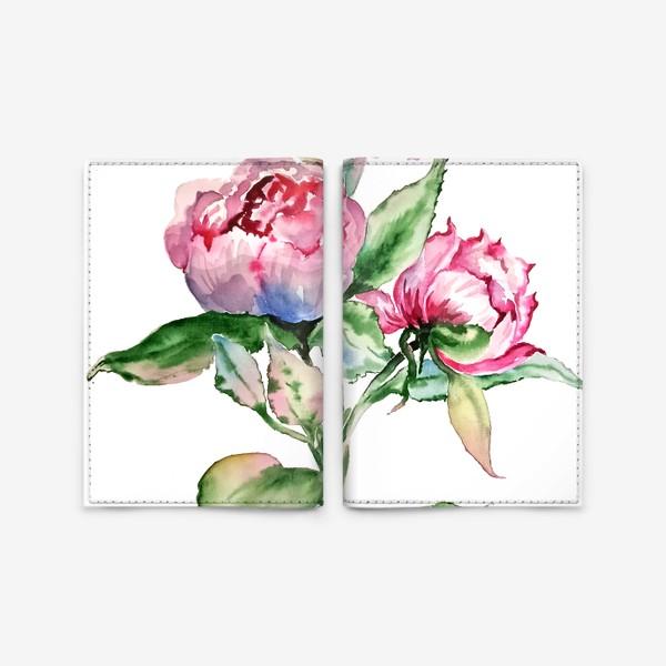 Обложка для паспорта «Розы»