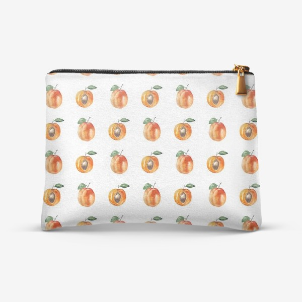 Косметичка «Сладкие абрикосы паттерн»