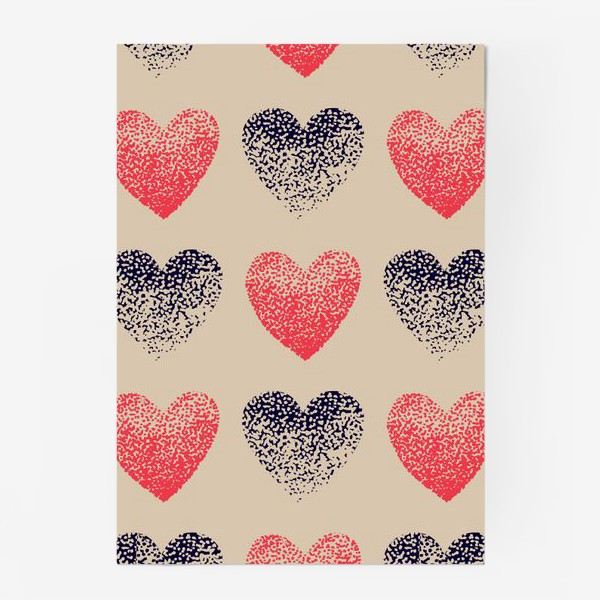 Постер «Сердечки в точечку»