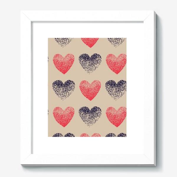 Картина «Сердечки в точечку»