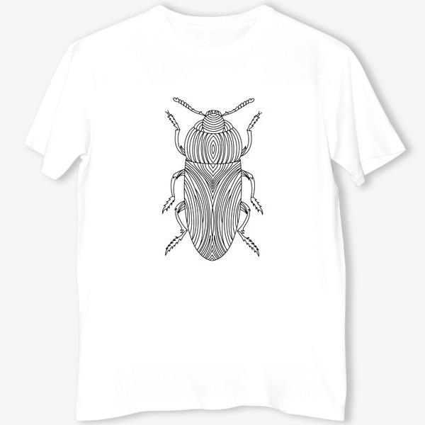 Футболка «Жук Золотистая Бронзовка. Тропическое насекомое»