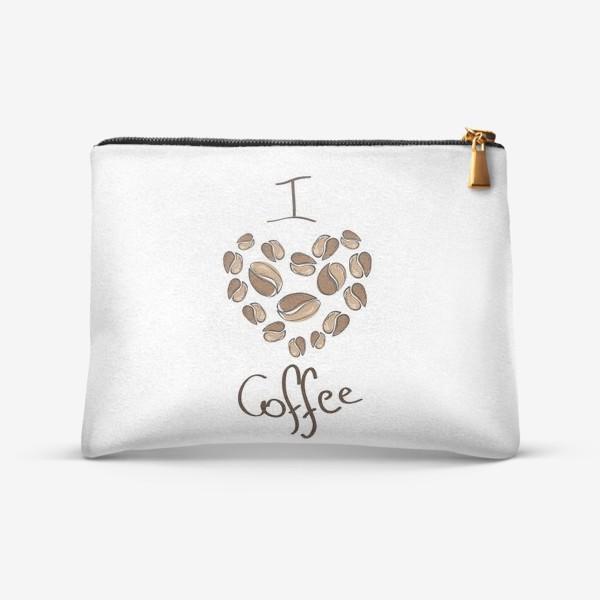 Косметичка «I love coffee»