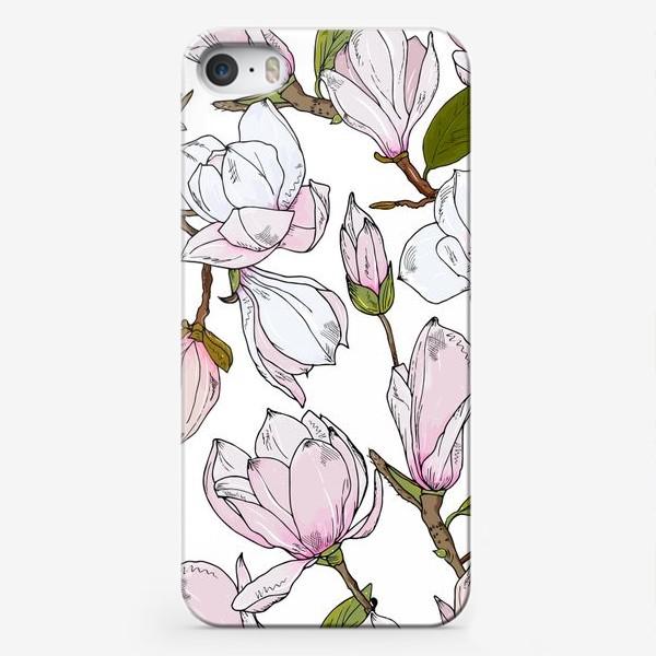 Чехол iPhone «магнолии»