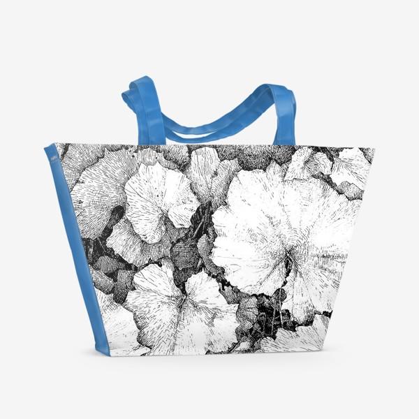 Пляжная сумка «Мать-и-мачеха»