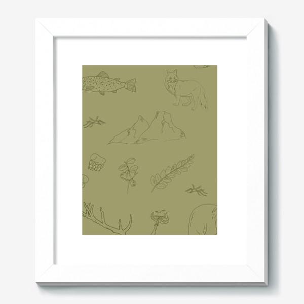 Картина «лесной поход»