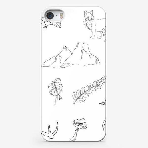 Чехол iPhone «поход в лес»