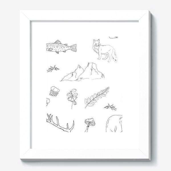 Картина «поход в лес»