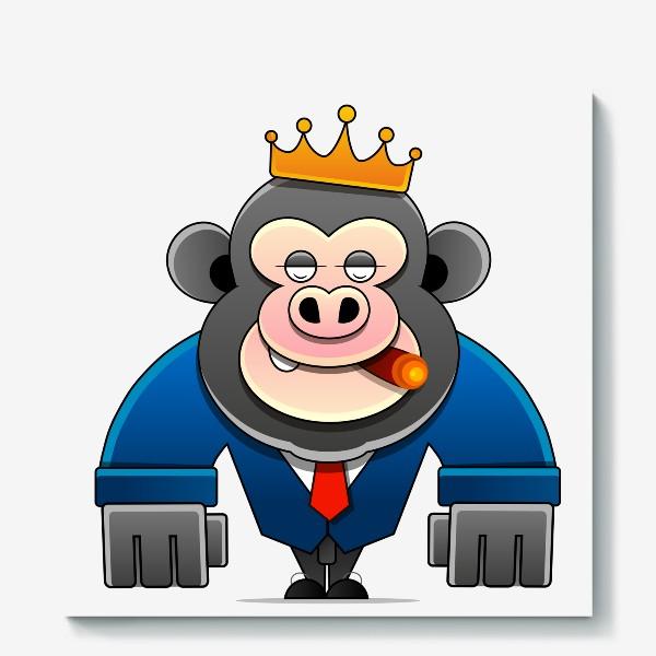 Холст «MONKEY KING»