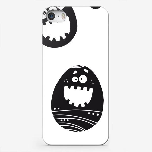 Чехол iPhone «Веселый пасхальный паттерн»