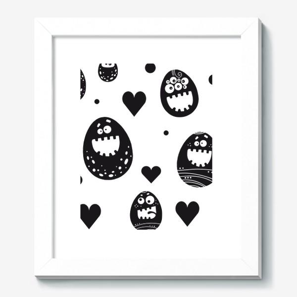 Картина «Веселый пасхальный паттерн»