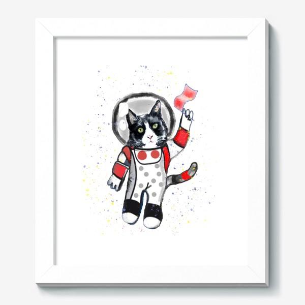 Картина «Кот в космосе»