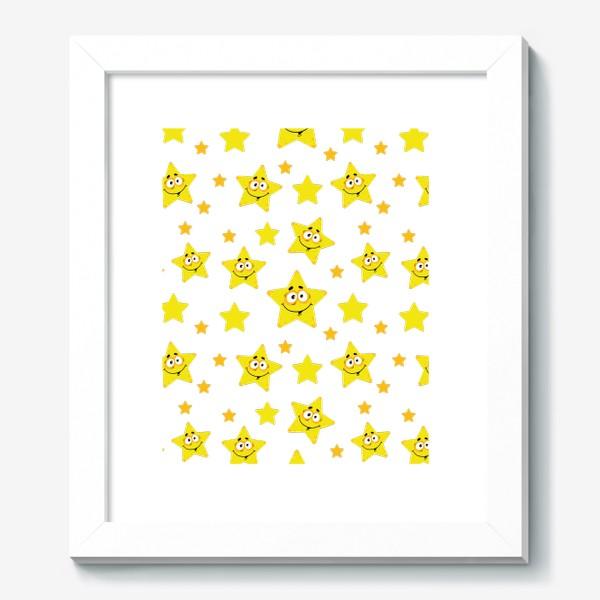 Картина «Небесный звездопад! Паттерн со звездами. »