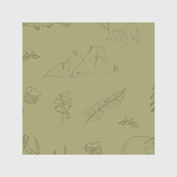 Скатерть «лесной поход»