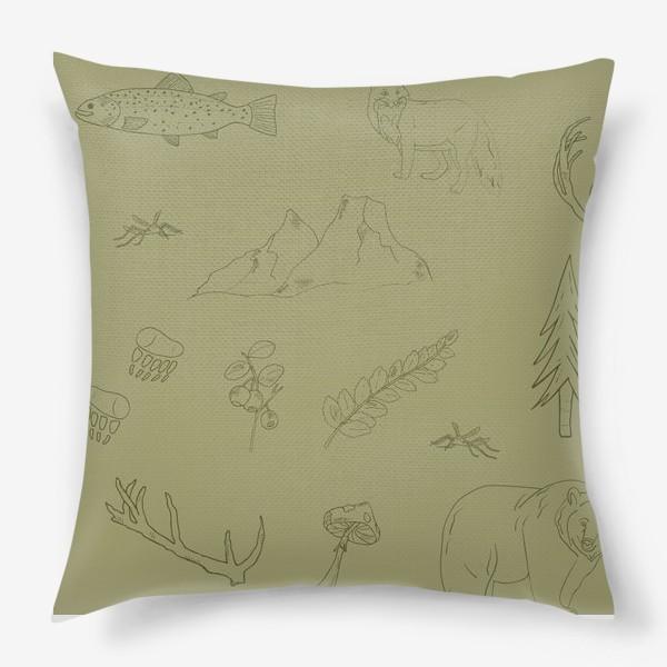Подушка «лесной поход»