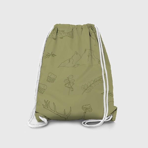 Рюкзак «лесной поход»