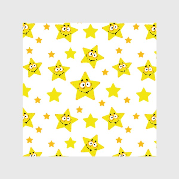 Шторы «Небесный звездопад! Паттерн со звездами. »