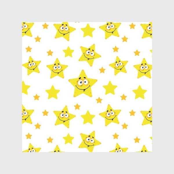 Скатерть «Небесный звездопад! Паттерн со звездами. »