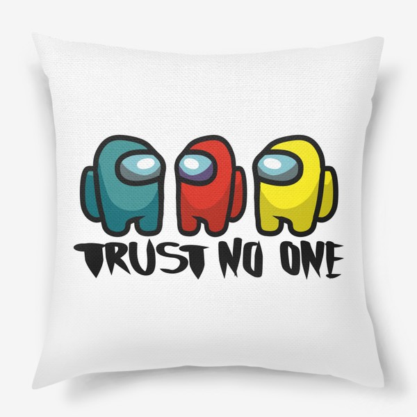 Подушка «Among us. Trust no one»