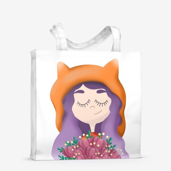 Сумка-шоппер «Девочка - лисичка»