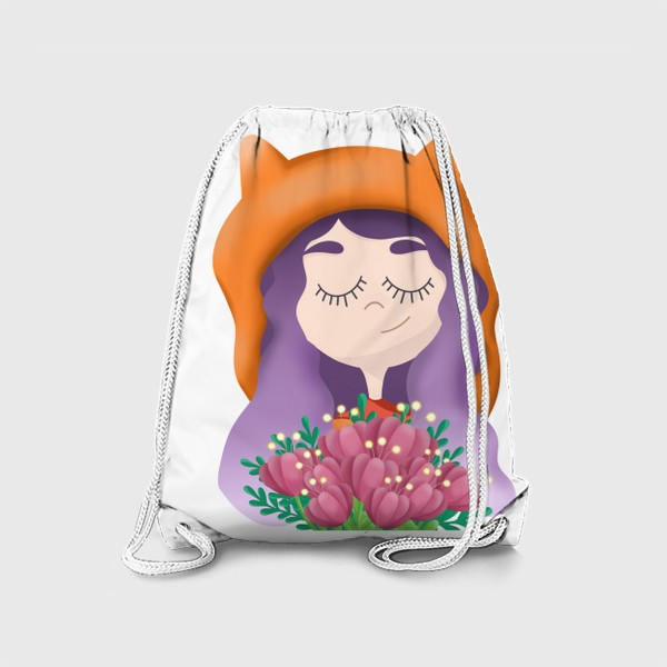 Рюкзак «Девочка - лисичка»