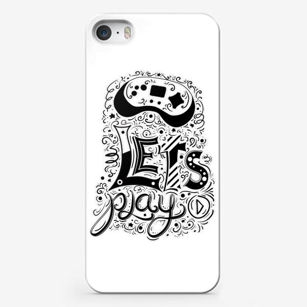 Чехол iPhone «Давай играть! »