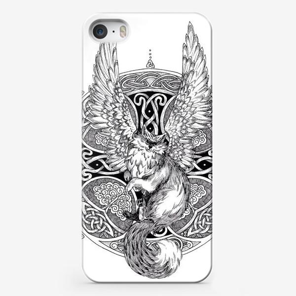 Чехол iPhone «крылатый кот»